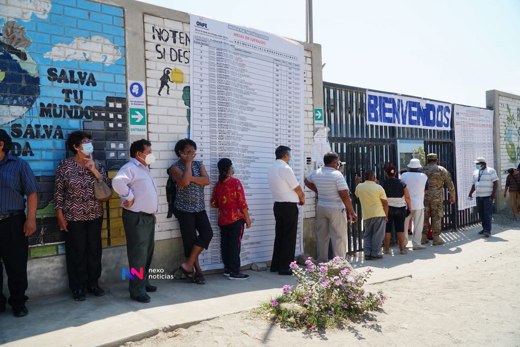 Numerosos retrasos en la apertura de mesas electorales en Ica